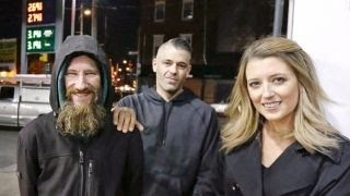 Woman raises thousands for homeless man who helped her