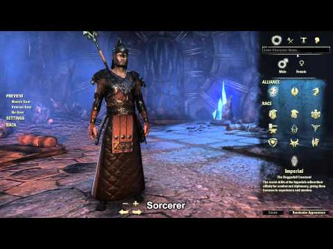 ESO Imperial Race Armor Preview