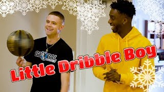 Little Dribble Boy | Freestyle Dribble Beat | Christmas Song Cover by JAYO