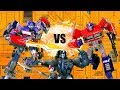Optimus VS Prime VS Optimus Primal!! Feat. EpicVoiceGuy | Transformers Toy Battle Stop Motion |