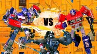Download Optimus VS Prime VS Optimus Primal!! Feat. EpicVoiceGuy | Transformers Toy Battle Stop Motion | Video