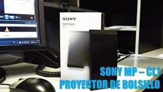 Proyector de bolsillo Sony MP CL1 - Reseña