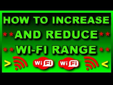 How to Increase\Boost and Reduce\Decrease Wi-Fi Range? 100% Working Siti Broadband