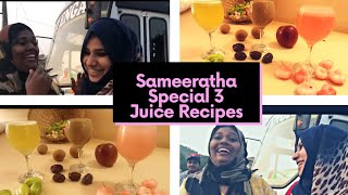 Three Ifthar Drinks/Sameeratha (Salukitchen) Special