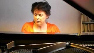 Fikret Amirov, 12 miniatures for piano: Lirik raqs, lyrical dance, Sara Crombach
