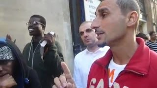 Muslim asks Hebrew Israelites -Do you believe Jesus is God ? Oxford Street London - Youtube