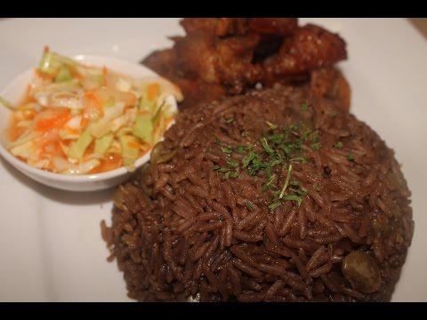 Diri Djon Djon (Haitian Black Rice)