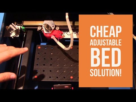 K40 eBay Chinese CO2 Laser Cutter & Engraver - Cheap Adjustable Bed Solution!