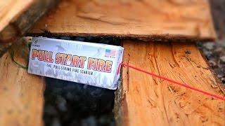 """Pull String Fire Starter - """"Pull Start Fire"""""""