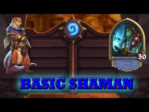 Hearthstone Deck Guide - Starter Shaman (Basic Cards Only)
