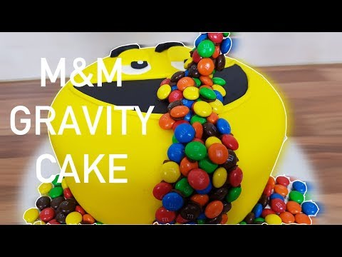 How to Make an M&M Gravity Cake - Cakes for Kids