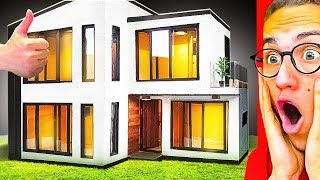 He Built The GREATEST MINIATURE HOUSE Ever Made!