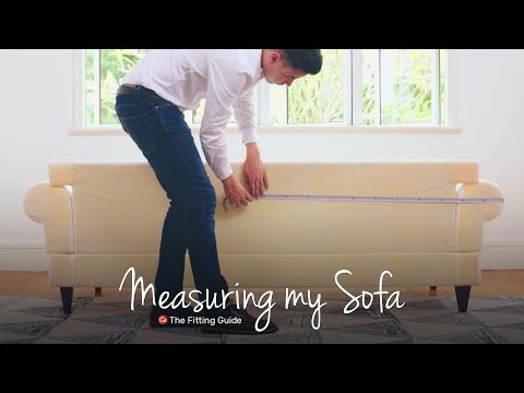 How To Measure Your Sofa For A Custom Sofa cover | Comfort Works Sofa Covers