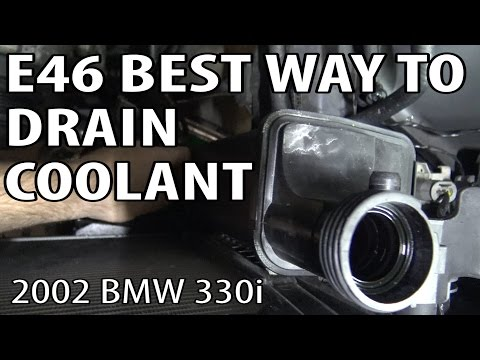 Best Way To Drain Coolant on an E46 BMW #m54rebuild 5