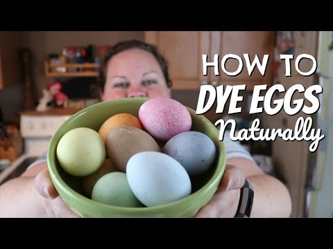 How to Dye Easter Eggs Naturally    Veggie Dyes