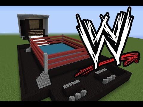 Minecraft Idea #9: WWE Wrestling Ring Raw | Smackdown