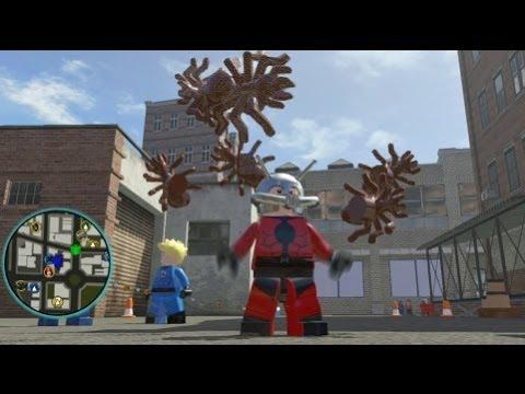 LEGO Marvel Super Heroes - Ant-Man Unlocked + Free Roam Gameplay (Character Token Guide)