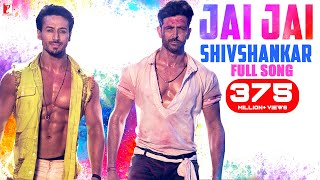 Jai Jai Shivshankar Song | WAR | Hrithik Roshan, Tiger Shroff | Vishal & Shekhar, Benny | Holi Song