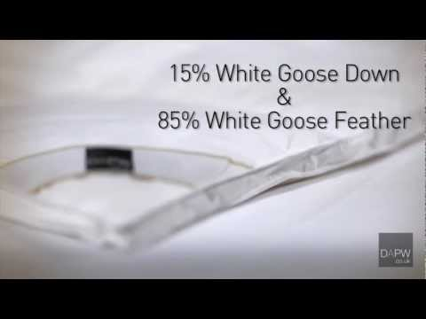Goose Feather And Down Duvet - 13.5 Tog