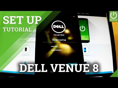 Initialization Setup Process in DELL Venue 8 - Dell Venue Activation
