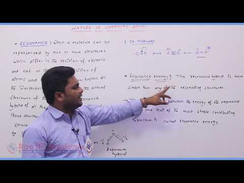 Nature of Chemical Bond  Chemistry Part-6 std 11th HSC Board Video Lecture BY Rao IIT