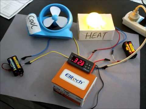 AC 110V Digital Temperature Controller Temp w/ Sensor Thermostat aquarium Control How wire STC-1000
