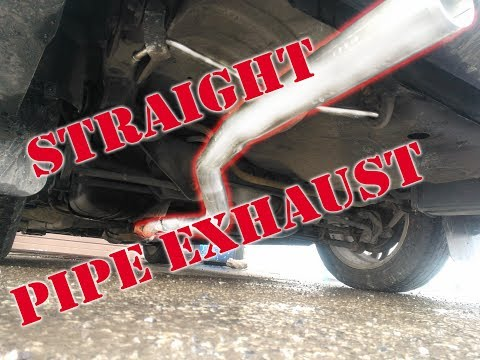 How to build Straight Pipe / Muffler delete