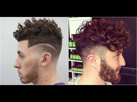 Top 10 Curly Hairstyles For Men 2017-2019 | Hairstyles for Curly/Wavy Hair 2018