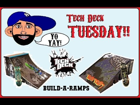 Tech Deck Build-A-Ramps!! (1-20-15 T.F.T.)