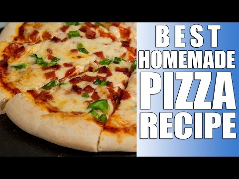 My BEST Pizza Recipe - With Yeast Dough !