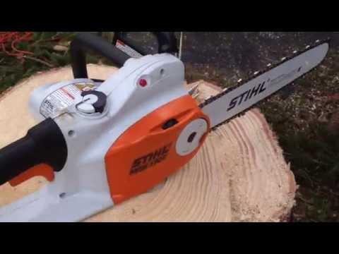 Stihl MSE 170C-BQ electric chainsaw