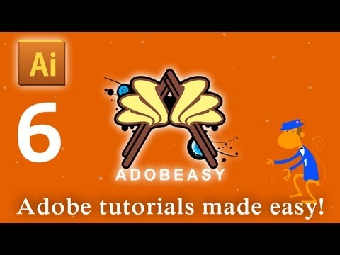 Adobe Illustrator CS5 Smart Guides Pen Tool and Anchor Points Tutorial
