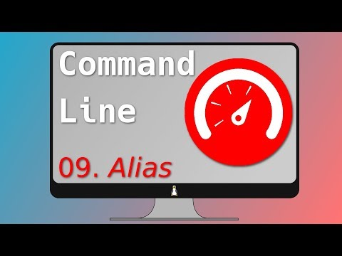09. Alias: Create your own terminal commands (Productivity!)