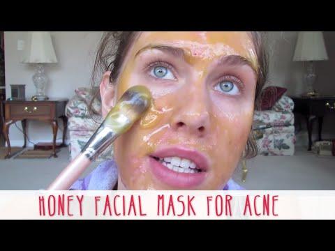 Homemade Honey Facial Mask For Acne | Cassandra Bankson