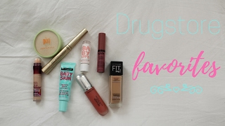 FAVORITE DRUGSTORE MAKEUP PRODUCTS!