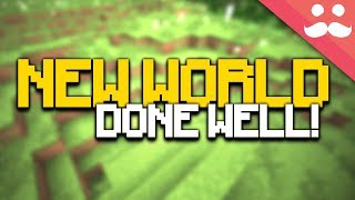 50 Steps to STARTING A NEW MINECRAFT WORLD PROPERLY!