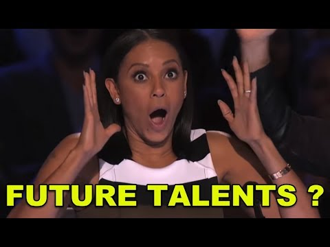 5 *TALENTED KID SUPERSTARS* on America's Got Talent!