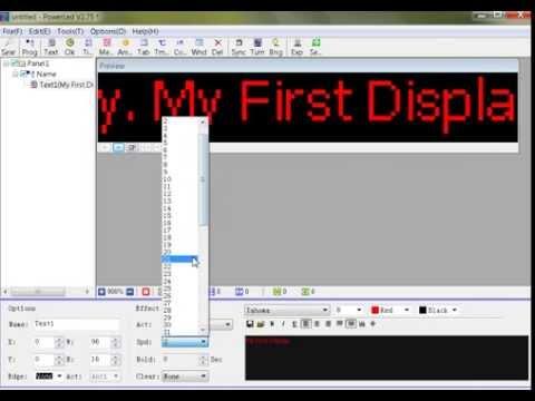 PowerLed V2.7 Software Tutorial