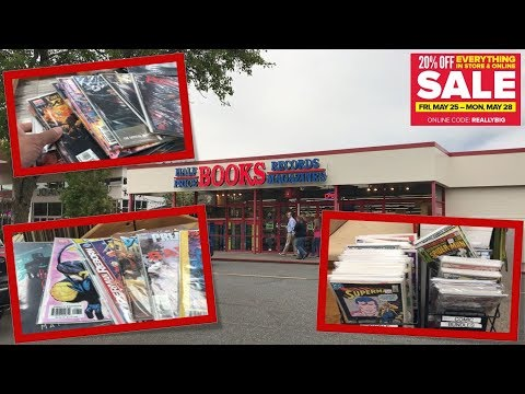 Half Price Books Comic Book Haul 103 | Memorial Day Sale 2018!