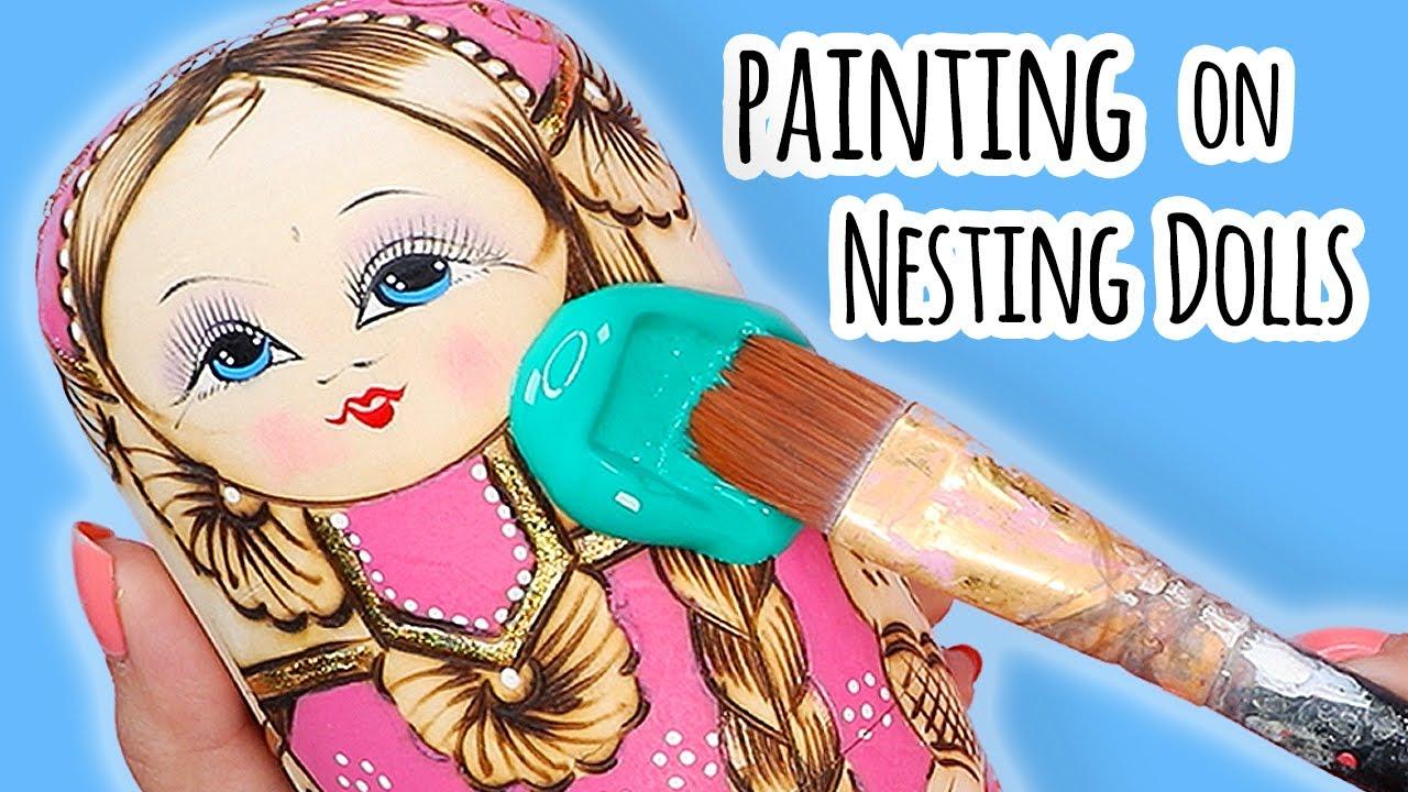 Customizing Nesting Dolls