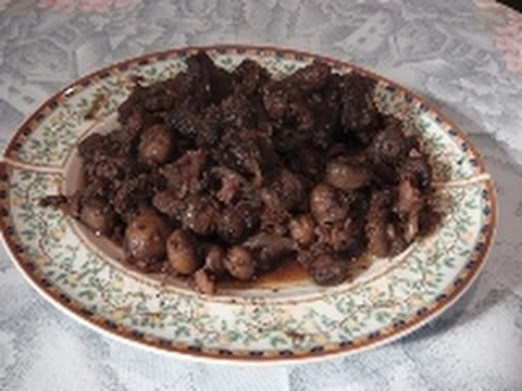 """PORK STEW COOKED IN THE OVEN """"AFELIA"""" - STAVROS KITCHEN - CYPRIOT CUISINE"""