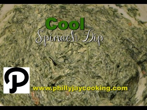 How To Make The BEST Cool Spinach Dip EVER: Easy Delicious Spinach Dip Recipe