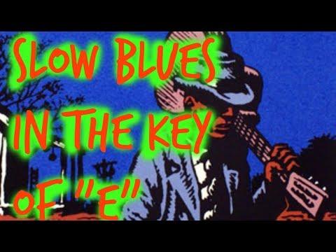Slow Acoustic Blues in