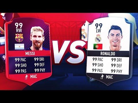 MESSI VS RONALDO DE FIFA 10 À FIFA 17 !!!