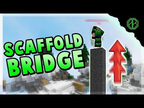 SCAFFOLD BRIDGE in Hypixel Skywars