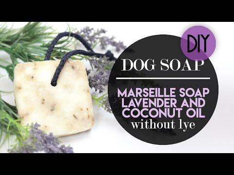 DOG SOAP WITHOUT LYE - SAPONE PER CANI SENZA SODA CAUSTICA | EASY DIY