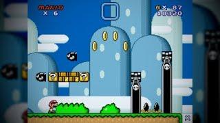 How to Tile Super Mario Bros  3 (SMAS) Overworld Bushes