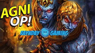 """SMITE - Agni Gameplay and Damage Build! THE """"HOT"""" PLAYS!"""