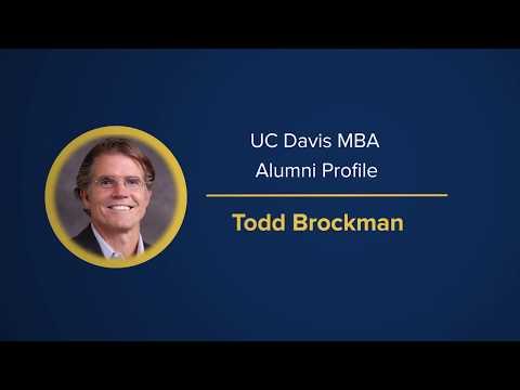 UC Davis MBA Alumnus Todd Brockman - 2018 GSMAA Distinguished Achievement Award