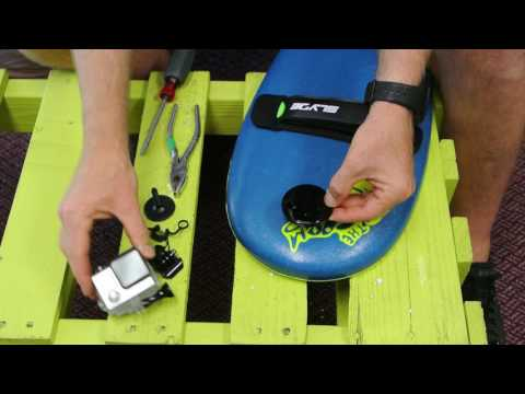 How To Attach Your GoPro Camera to The Soft Top Grom Slyde Handboard